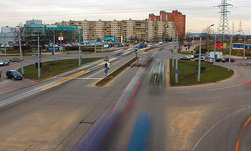Закрыто движение транспорта по улице Тимирязева в Минске