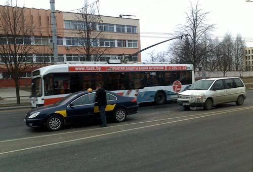 ДТП Минск (ФОТО). Информация Госавтоинспекции. 31 марта 2011