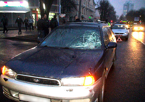 Авария и ДТП в Минске 05 апреля 2011