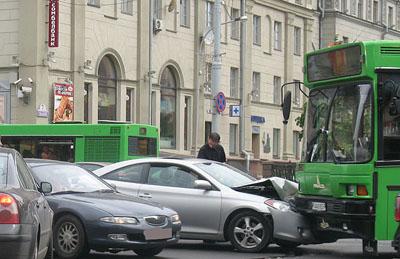 ДТП Минск (ФОТО). Информация Госавтоинспекции. Сводка за 30 мая 2011
