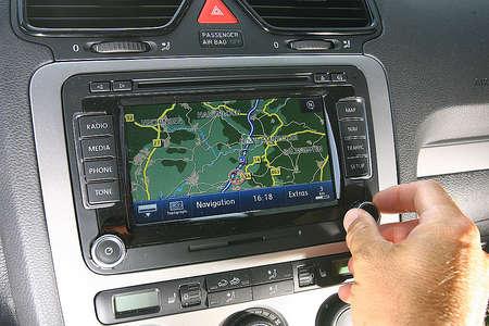 Навигация VW Scirocco