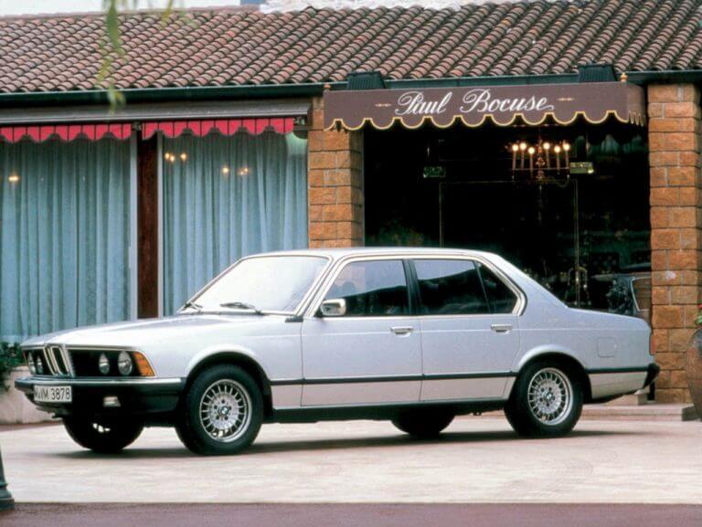 BMW седьмой серии первого поколения, производившийся в 1977–1986