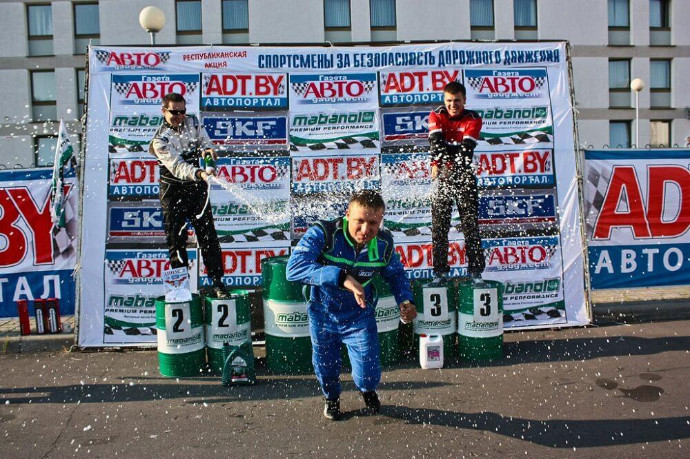 Андрей Барановский - победитель этапа акции в Гомеле