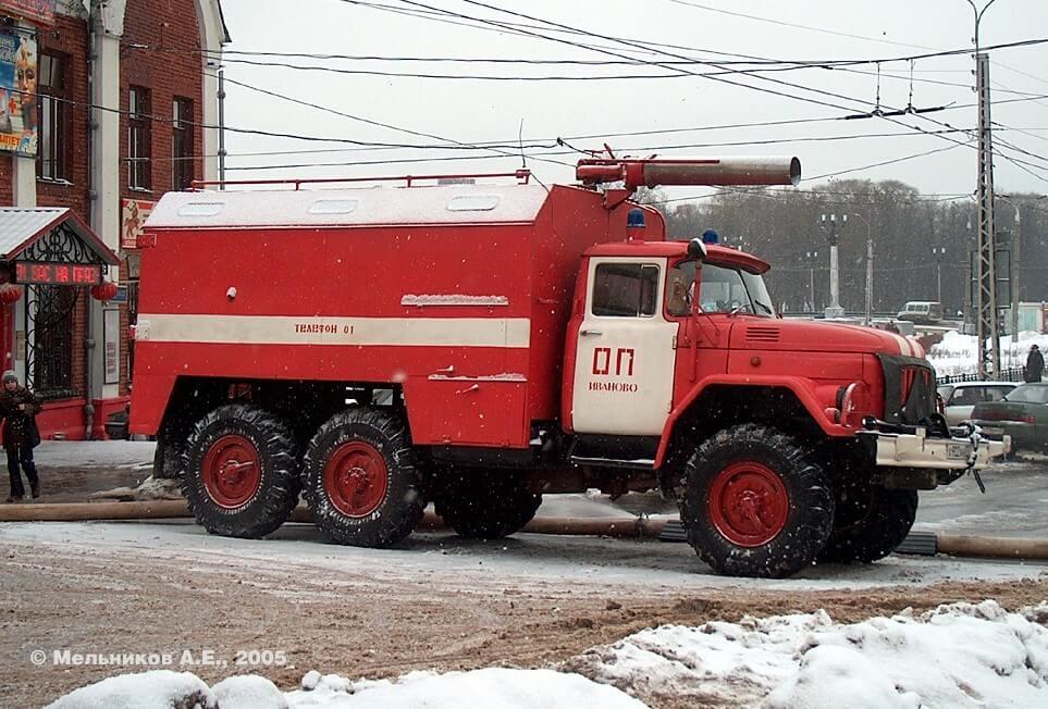 Автомобиль пожарный рукавный АР-2