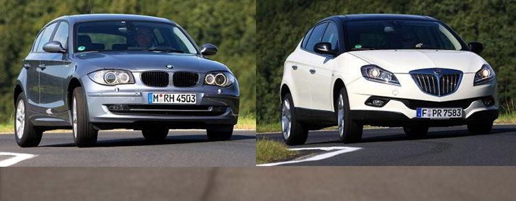 Сравнительный тест автомобилей BMW 118i, Lancia Delta 1.4 T-Jet 16V и Skoda Octavia 1.8 TSI