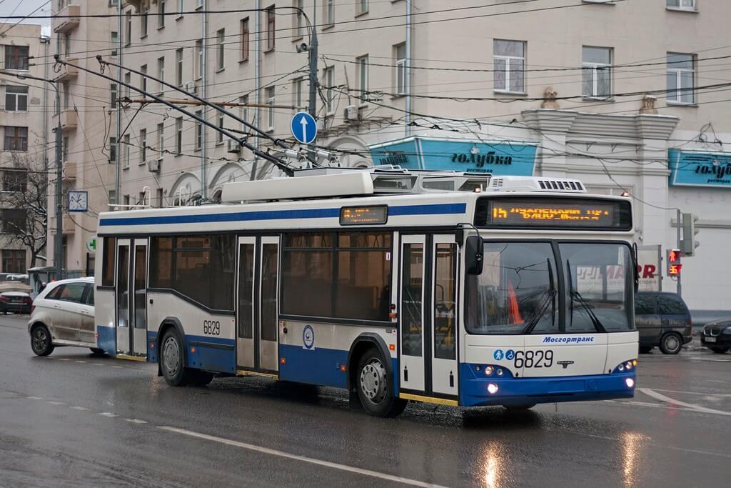 троллейбус СВАРЗ