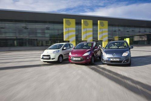 Сравнительный тест автомобилей Citroen C1 Style 1.0i, Ford Ka Titanium и Renault Twingo Night&Day 1.2 16V