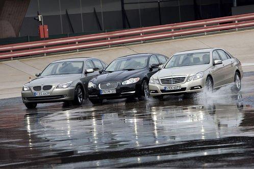 Сравнительный тест автомобилей BMW 530d, Jaguar XF 3.0 D и Mercedes E 350 cdi