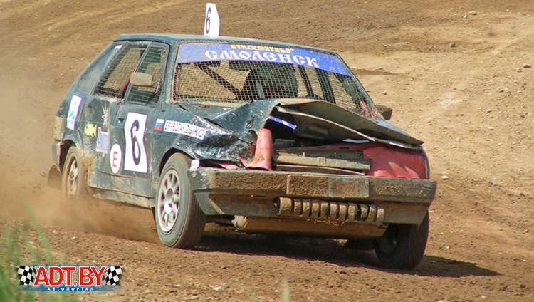 2-ой этап чемпионата 2009 года по автокроссу прошел в Гродно