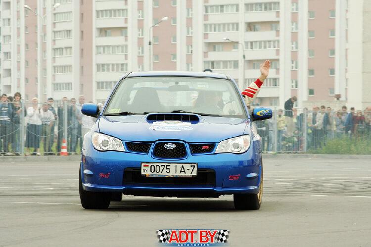 Акция «Спортсмены — за безопасность дорожного движения» 2009. Чемпион возвращается в строй