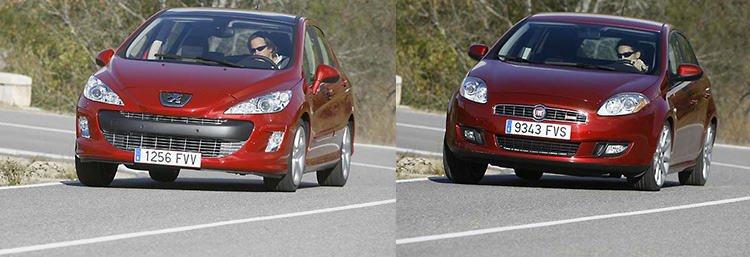 Сравнительный тест автомобилей Fiat Bravo 1,4 T-Jet и Peugeot 308 1,6 THP