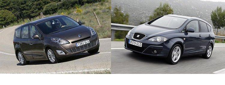 Сравнительный тест, тесты автомобилей, Renault, Рено, Seat, Сеат,