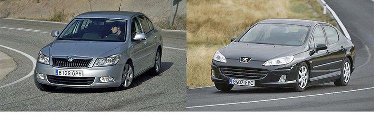 Сравнительный тест автомобилей Peugeot 407 и Skoda Octavia