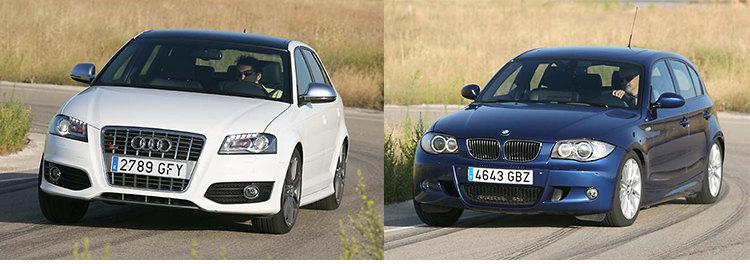Сравнительный тест автомобилей Audi S3 2,0 TFSi и BMW 130i