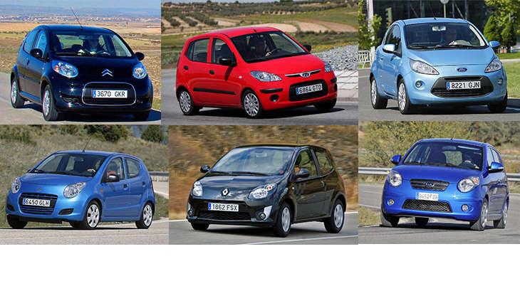 Сравнительный тест автомобилей Citroen C1, Ford Ka, Hyundai i10, Kia Picanto, Renault Twingo и Suzuki Alto