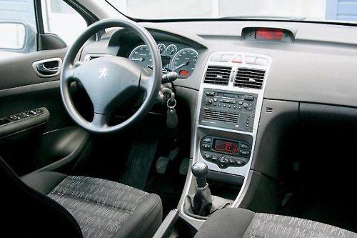 Панель Peugeot 307
