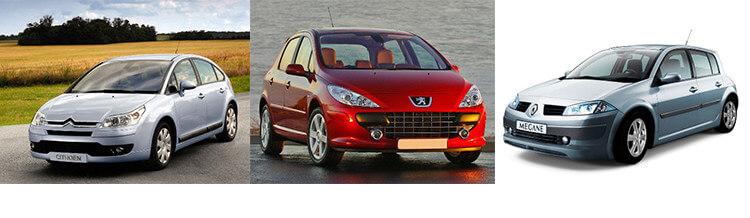 Сравнительный тест автомобилей Renault Megane, Peugeot 307 и Citroen C4