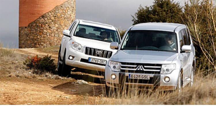 Сравнительный тест автомобилей Mitsubishi Montero (Pajero) и Toyota Land Cruiser