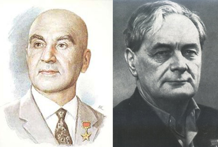 Александр Микулин и Борис Стечкин