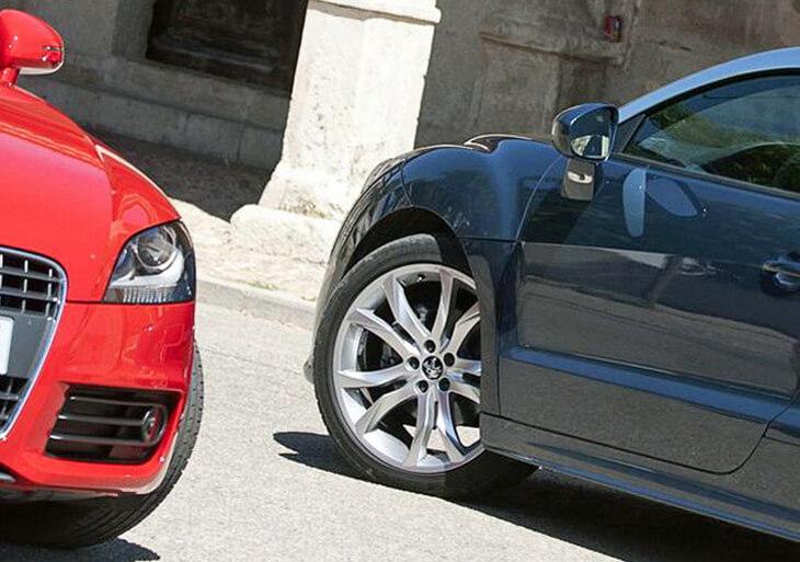 Сравнительный тест Peugeot RCZ и Audi TT