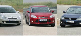 Сравнительный тест автомобилей Ford Focus, Renault Fluence и Volkswagen Jetta