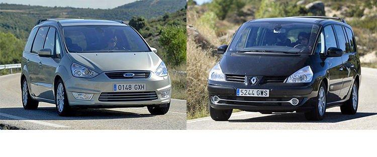 Сравнительный тест автомобилей Ford Galaxy и Renault Grand Espace