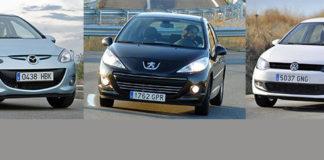 Сравнительный тест автомобилей Mazda2, Peugeot 207 и Volkswagen Polo