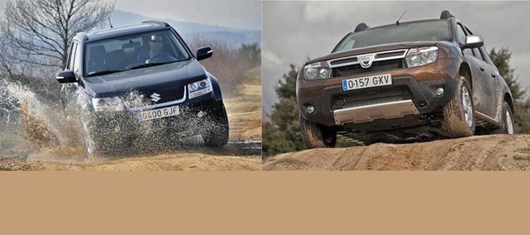 Dacia Duster и Suzuki Grand Vitara: дешевле не значит хуже?