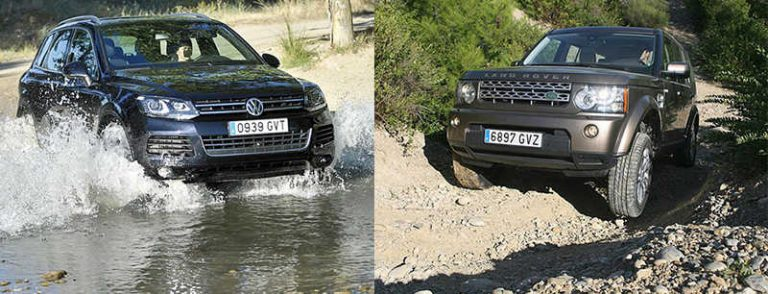Сравнительный тест автомобилей Land Rover Discovery и Volkswagen Touareg