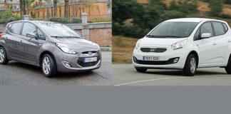 Сравнительный тест автомобилей Hyundai ix20 и Kia Venga