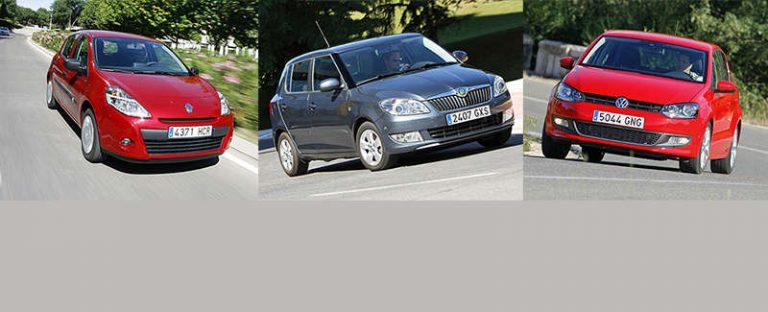 Сравнительный тест автомобилей Skoda Fabia, Renault Clio и Volkswagen Polo