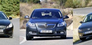 Сравнительный тест автомобилей Opel Insignia, Volkswagen Passat и Volvo S60