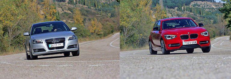 Сравнительный тест автомобилей Audi A3 и BMW 1-серии