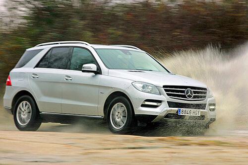Сравнительный тест автомобилей BMW X5 и Mercedes-BENZ ML