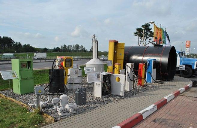 музей бензоколонок на боровой