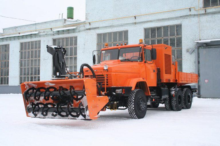 КрАЗ-63221 Дорожник с корейским оборудованием