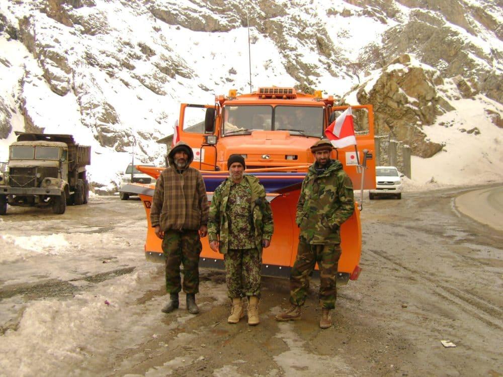 КрАЗ в Афганистане