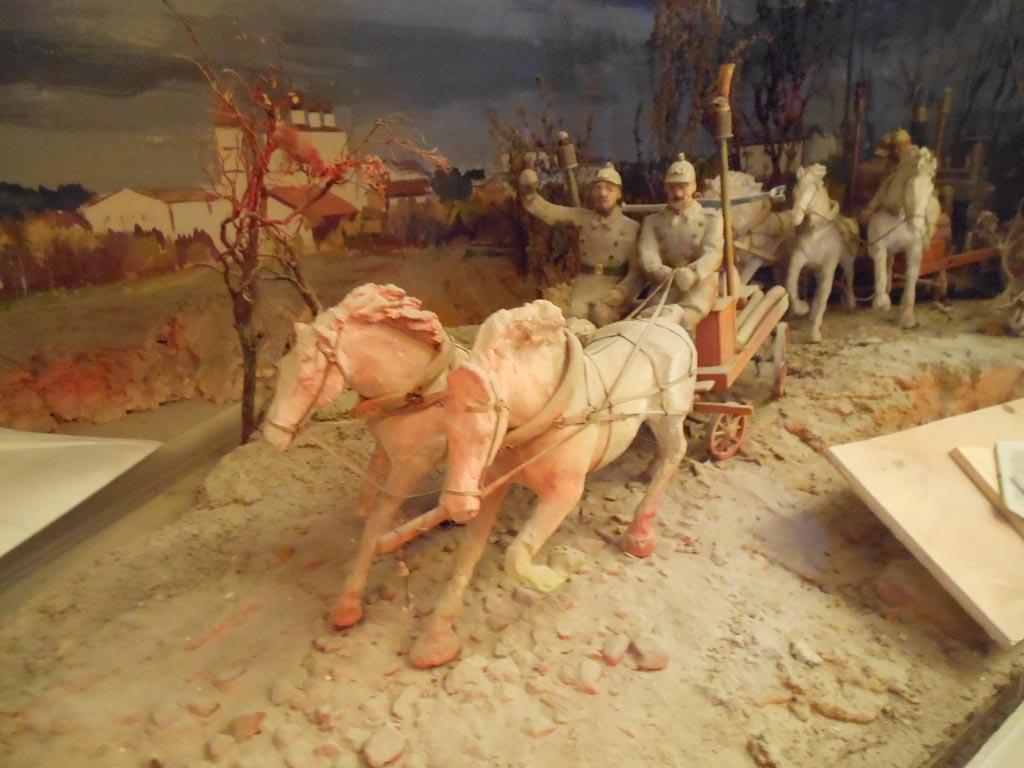 Фрагмент диорамы в Музее огня