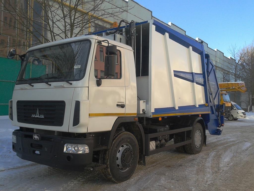 Мусоровоз МАЗ-5904В2