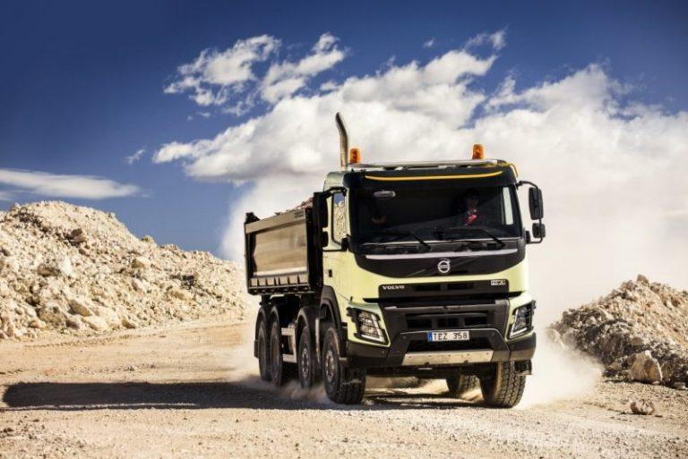 Новый Volvo FMX: для более эффективных строительных работ