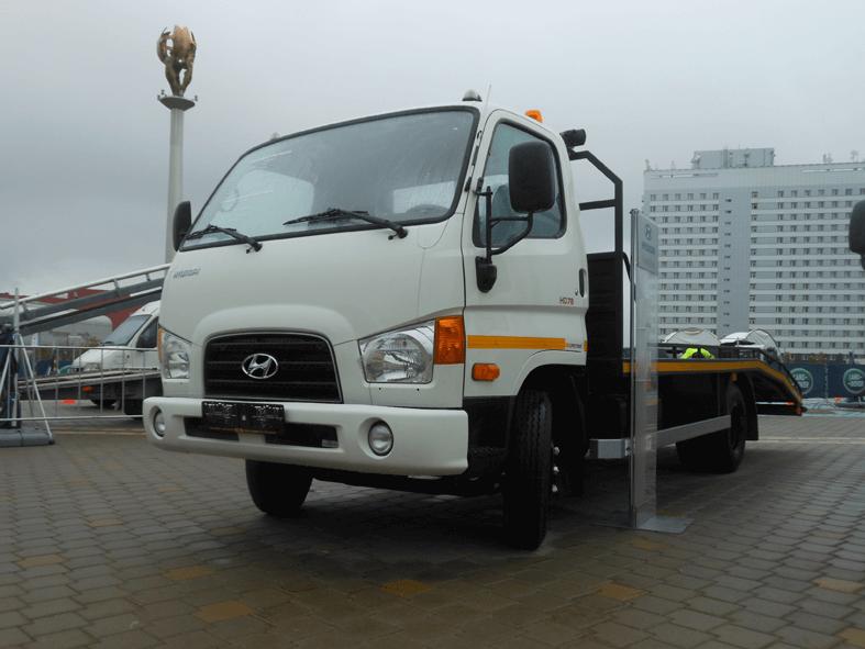 Автоэвакуатор на шасси Hyundai HD 78