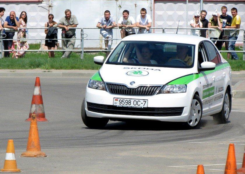 Тест-драйв Skoda Rapid