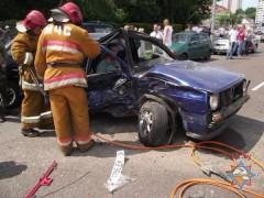 В Мозыре произошла серьезная авария