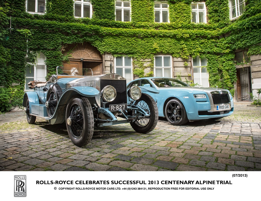 1913 Radley Silver Ghost and 2013 Bespoke collection Ghost_RR 3289