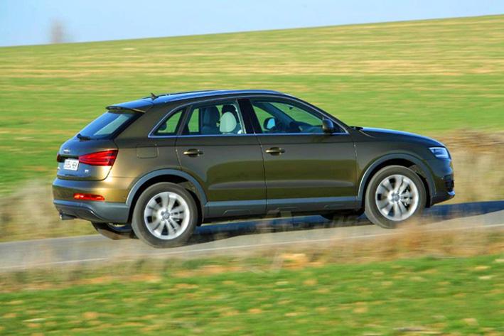 Audi Q3 выглядит не по классу серьезно