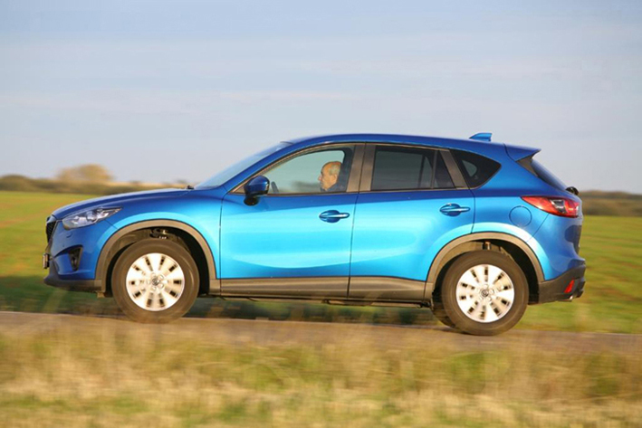 Импозантный экстерьер Mazda СX-5 оставляет сплошь положительные впечатления