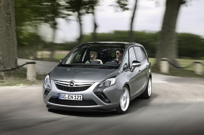 Opel Zafira обзавелась новой версией для любителей активной езды