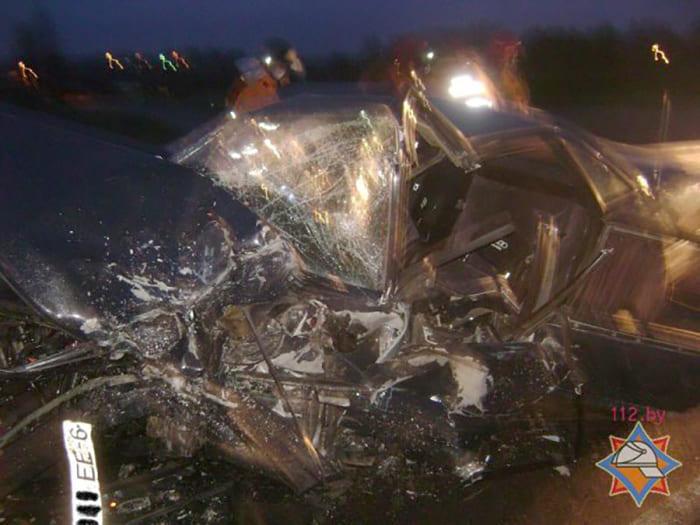ДТП под Княженцами: микроавтобус столкнулся с легковушкой