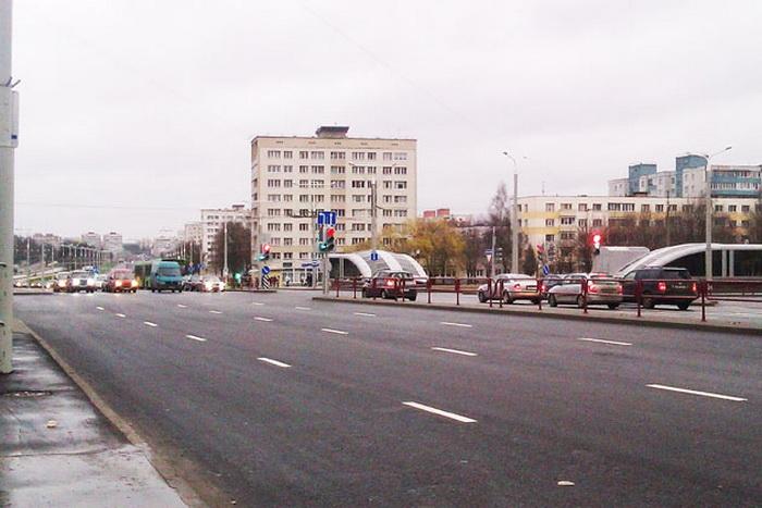 На улице Ташкентской в Минске будут работать  камеры фотофиксации