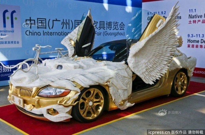 БМВ Z4 в золоте